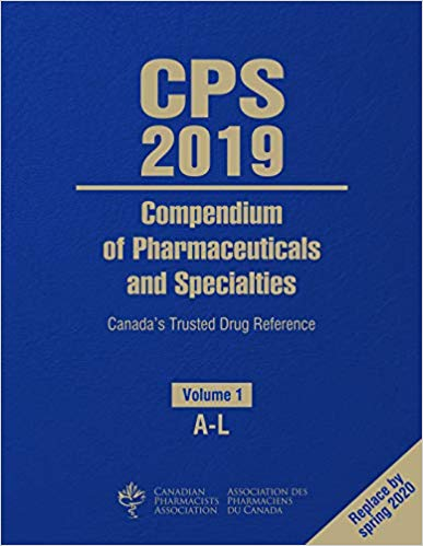 The Compendium of Pharmaceuticals and Specialties (CPS) is