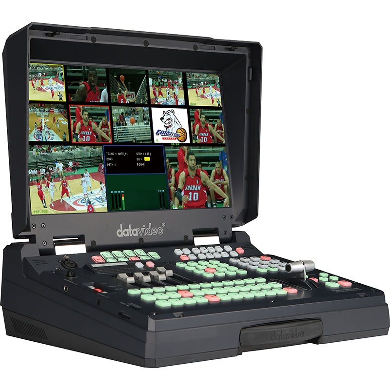 HS-600 SD 8 - Channel Mobile Video Studio - Datavideo HS-600 is a