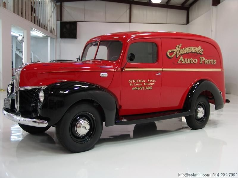 vintage delivery vans for sale | CLASSIC CAR GALLERY PRESENTS: 1941 ...