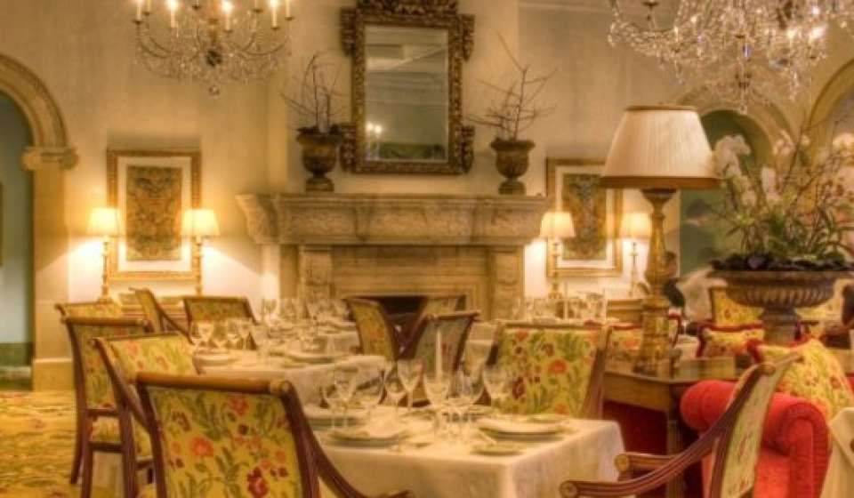 90Plus  The World's Best Restaurants Georgian Room  Sea Delectable Islands Dining Room Decorating Design