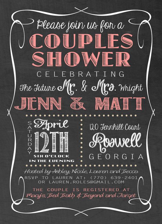 Printable Wedding Shower Invitation By Kaddesignsforlove On Etsy 18 00