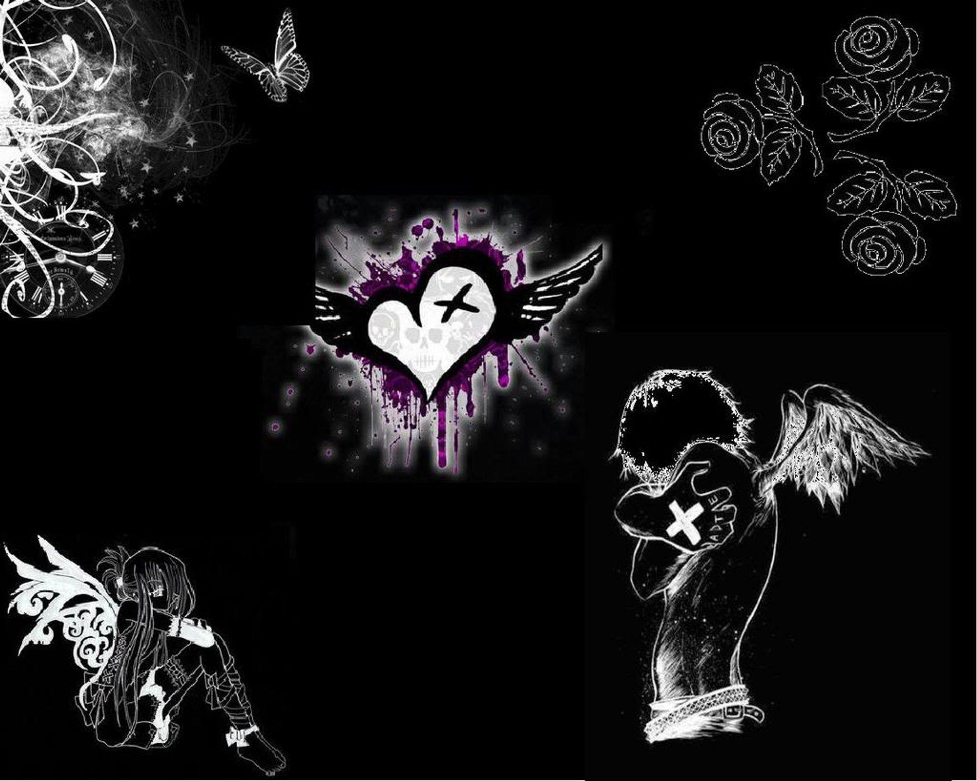 Patreon Emo Wallpaper Emo Backgrounds Emo Art