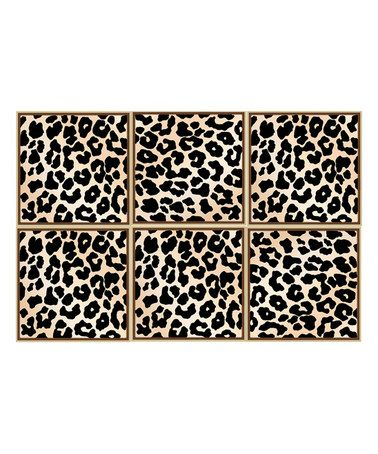 Loving This Leopard Adhesive Floor Tile On Zulily