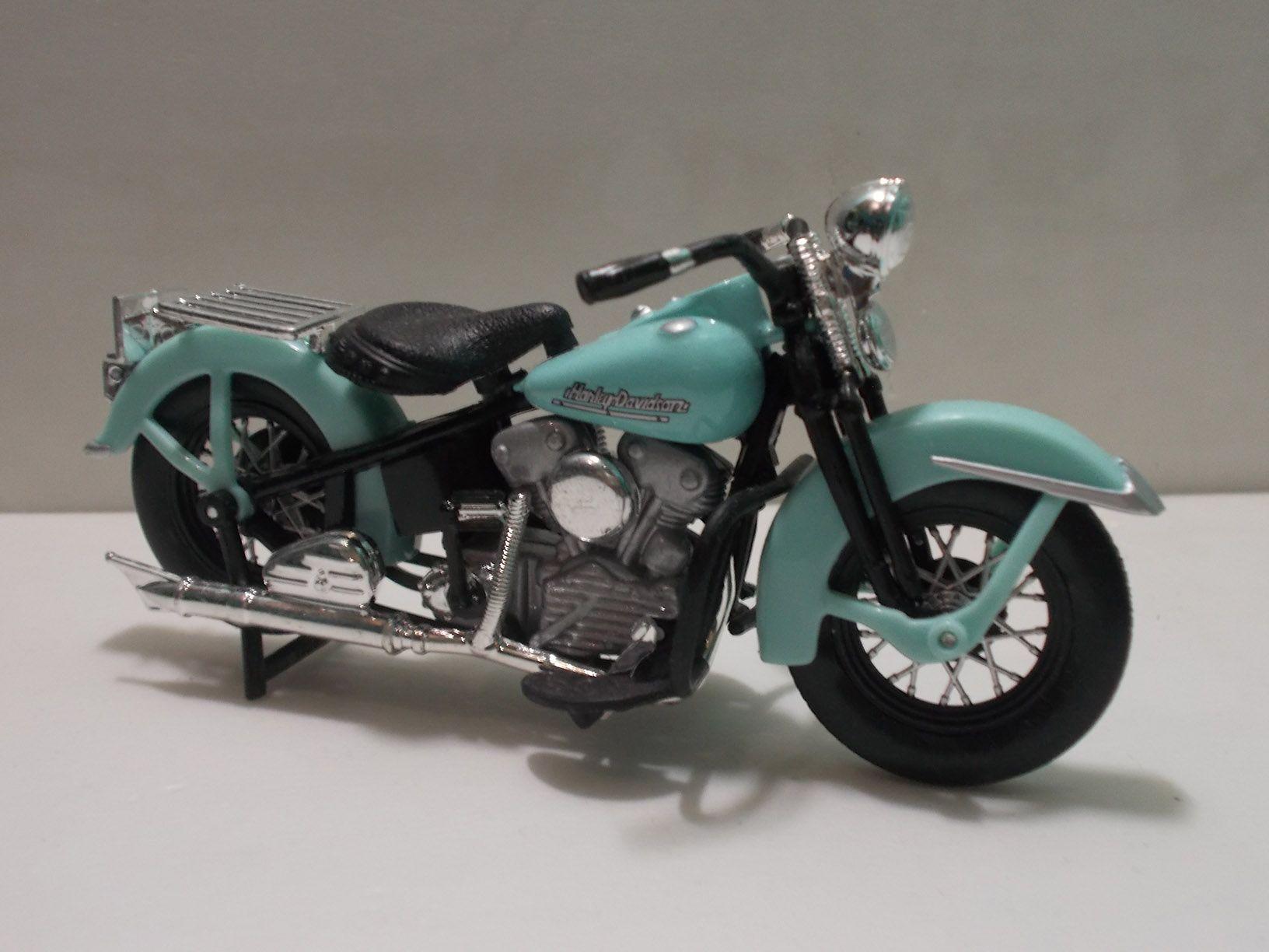 Jt S Harley Davidson Knucklehead 1946 Scale 1 18