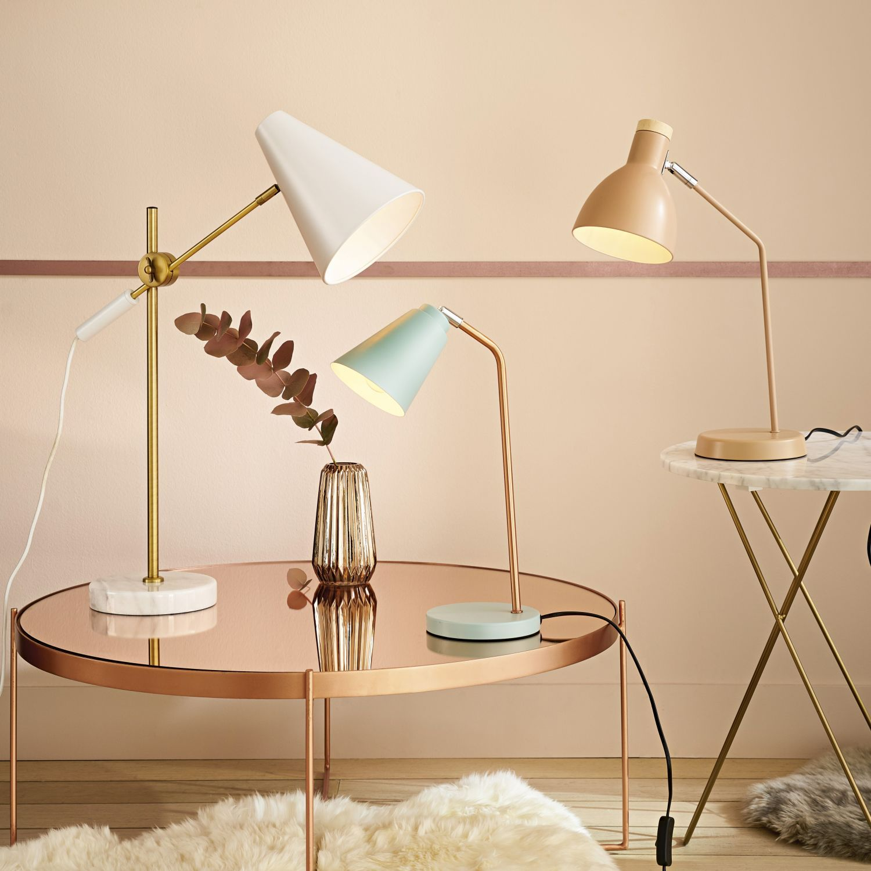 Salon-spiegel-designs runder couchtisch aus verkupfertem metall mit spiegel  table