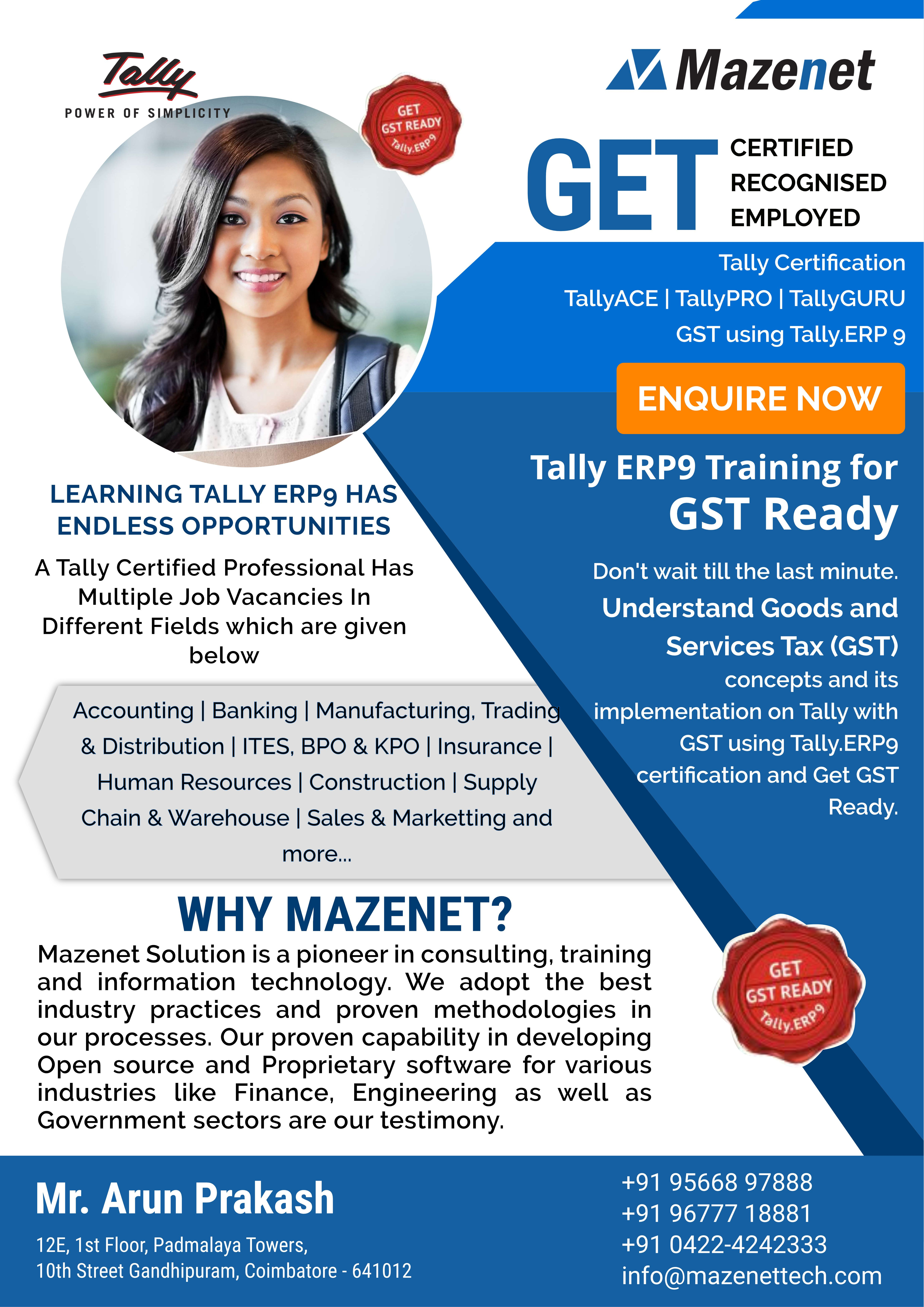 Register Here For Free Tally Training Certification Course Demo Train Fund Management Online Classes