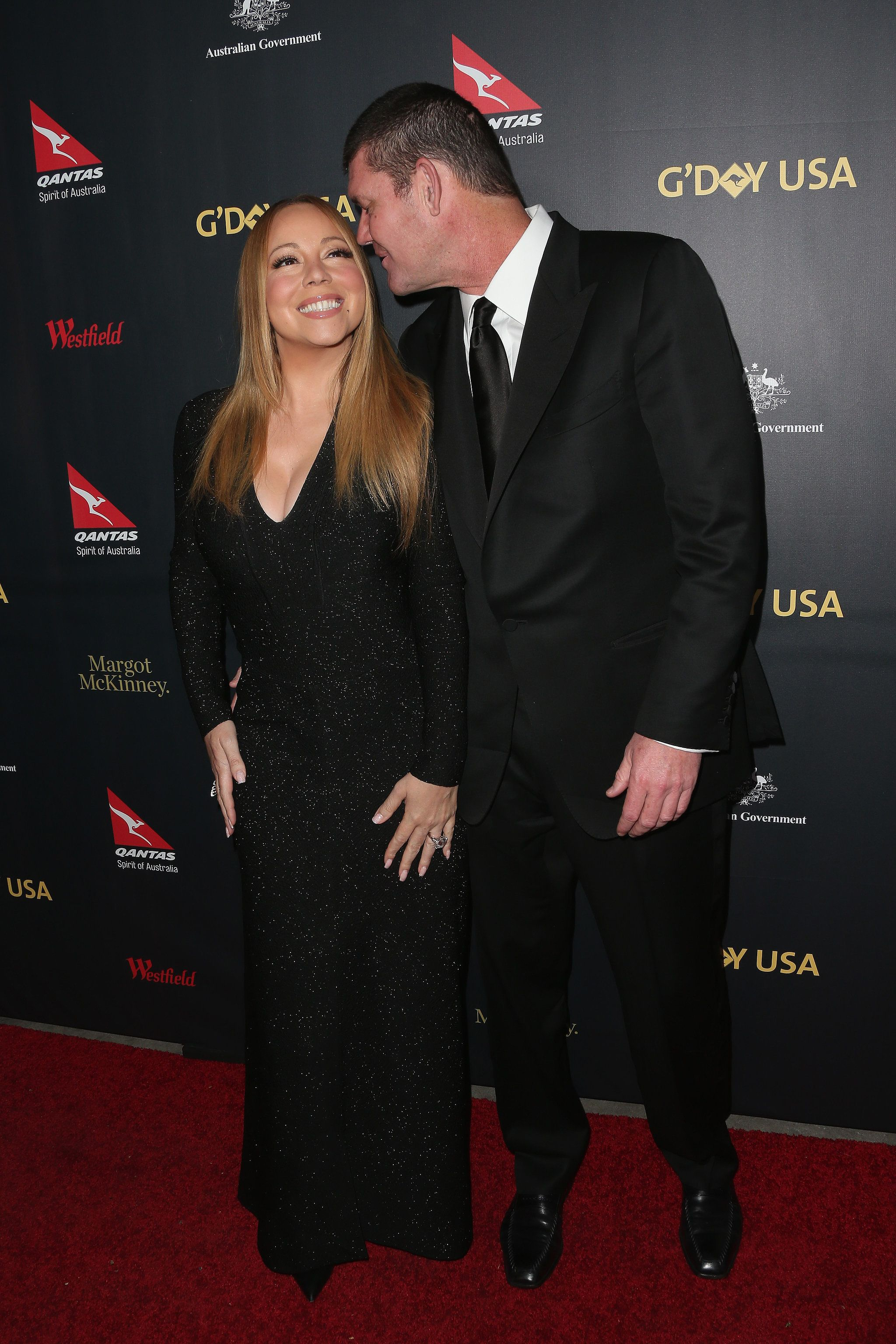 g'day usa gala 2016 | mariah carey + james packer