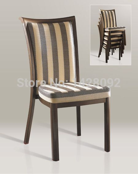 Wholesale Quality Luxury Strong Woodgrain Aluminum Banquet Chairs