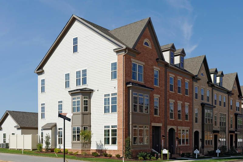 New Construction Homes For Sale In Maryland Williamsburg Homes Estate Homes Townhouse Entry Foyer