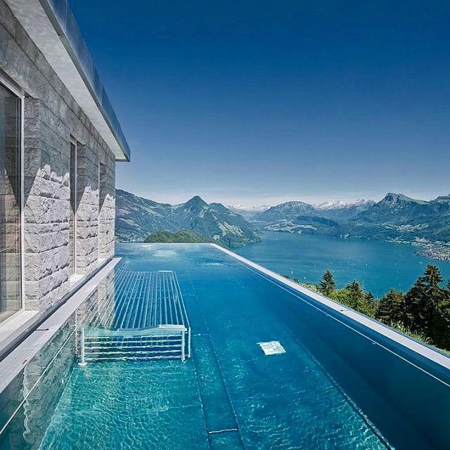 ... Hotel Villa Honegg, Switzerland Adventures Pinterest Hotel   Hotel  Barcelone Bord De Mer Avec Piscine ...