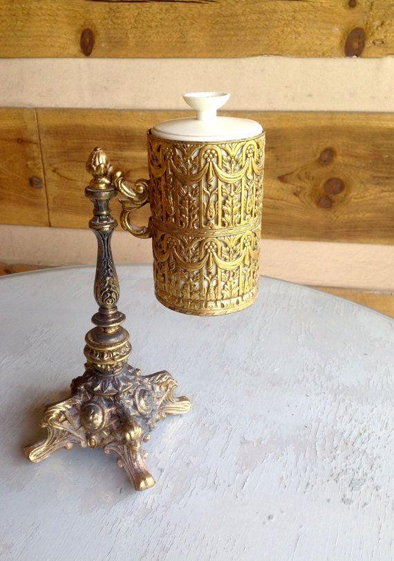 Mid Century Br Hollywood Regency Dixie Cup Holder For Your Bathroom