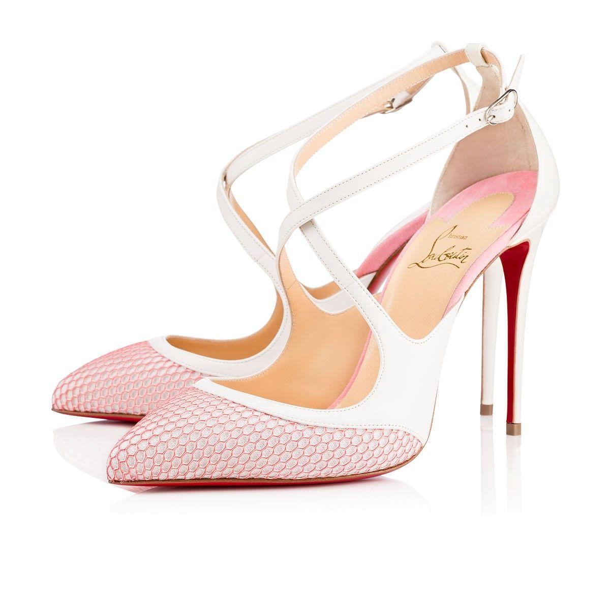 e6f0f82fb19 CHRISTIAN LOUBOUTIN Crissos 100 Version Dolly Leather - Women Shoes ...