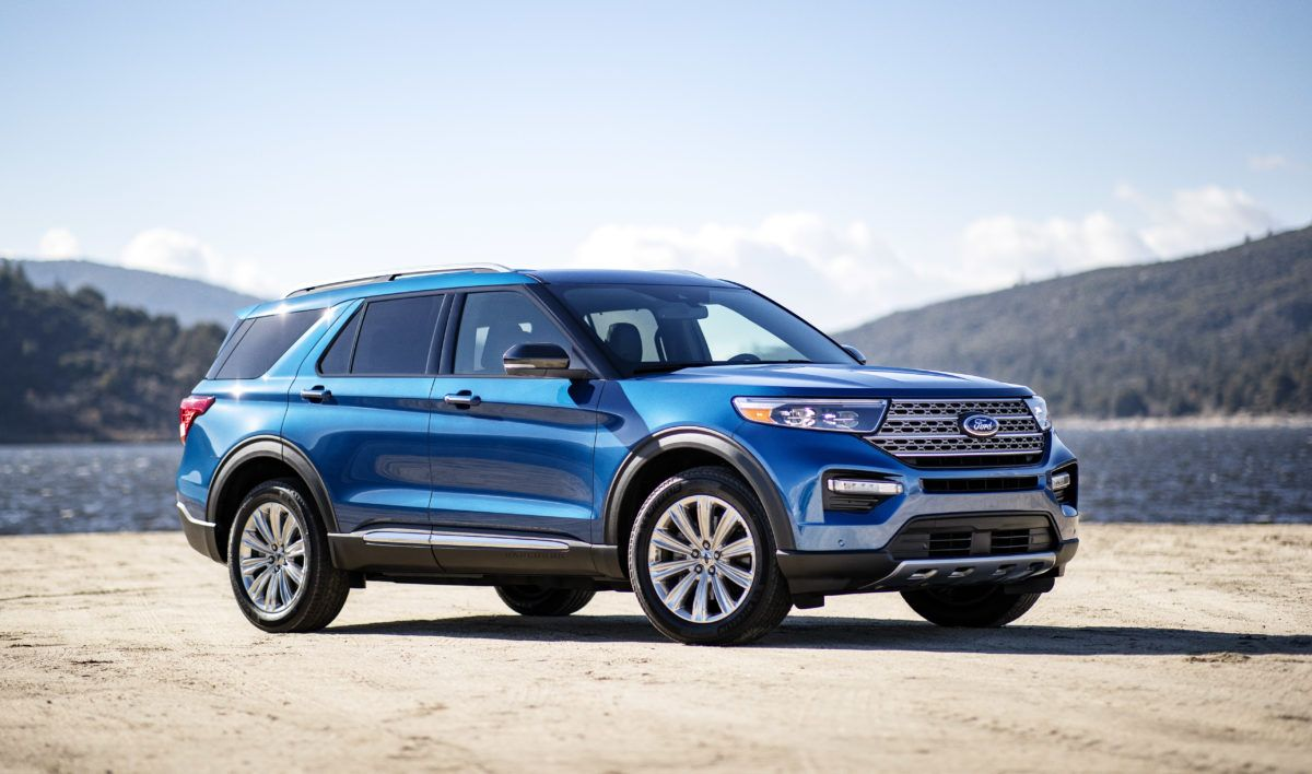 2020 Ford Explorer More Than 500 Miles Between Gas Station Fill Ups 2020 Ford Explorer Ford Explorer Ford Explorer Sport