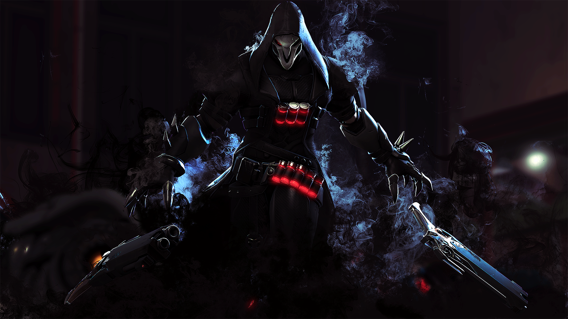 Video Game Overwatch Reaper Overwatch Wallpaper Overwatch Wallpapers Overwatch Reaper Overwatch