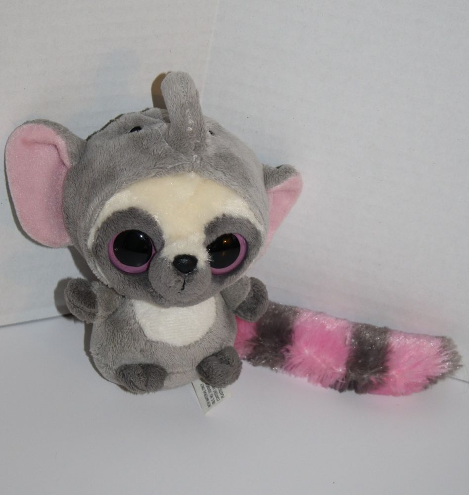 Aurora Yoohoo & Friends Wannabe Elephant Pink Gray Plush