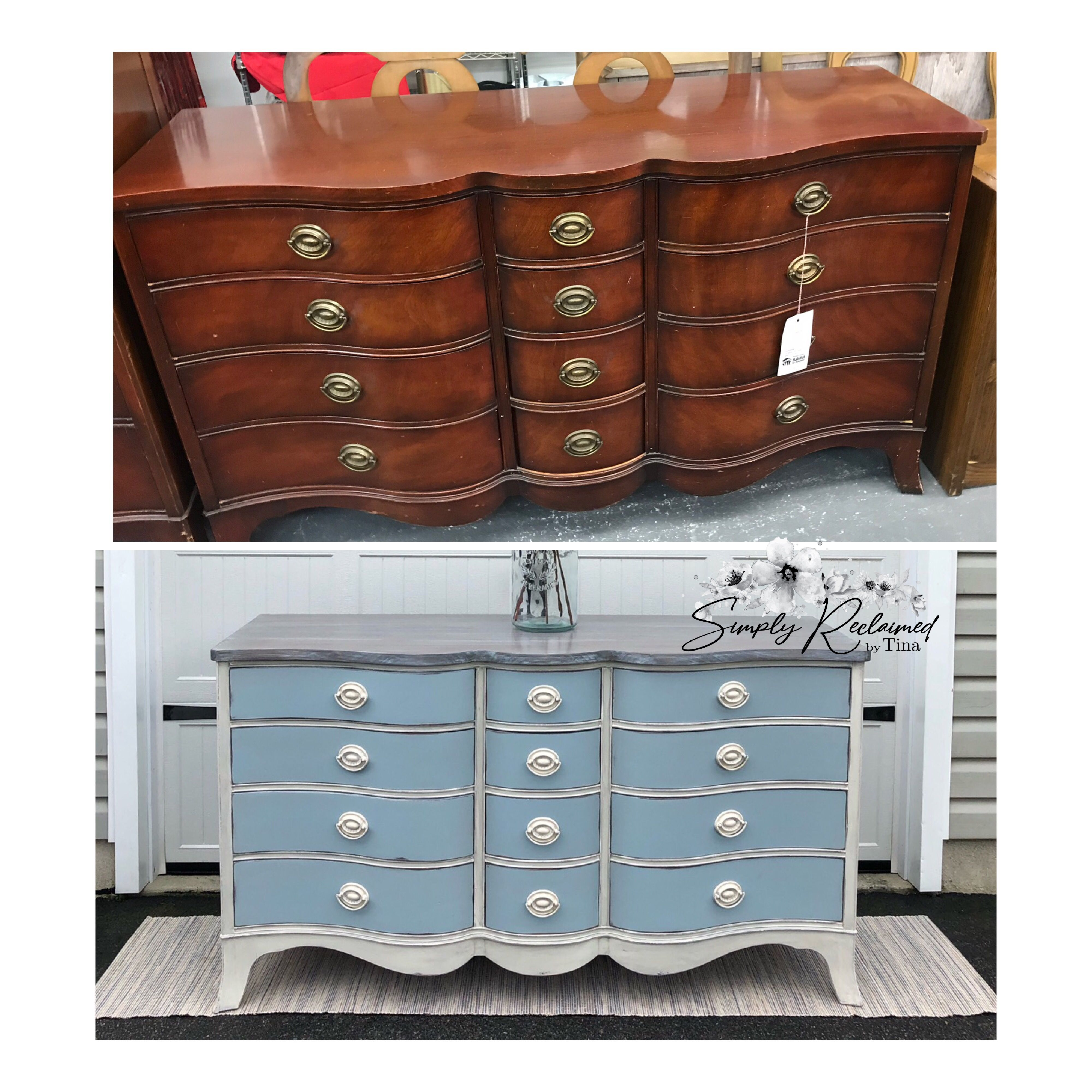 Drexel 12 Drawer Dresser 12 Drawer Dresser Upcycle Dresser Chalk Paint Furniture [ 4000 x 4000 Pixel ]