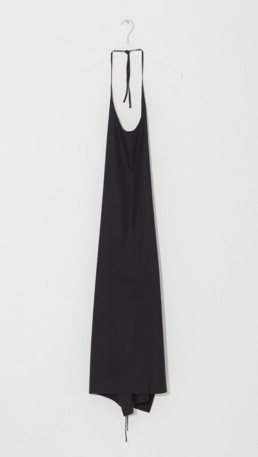 Baserange Raw Silk Apron Dress | The Dreslyn