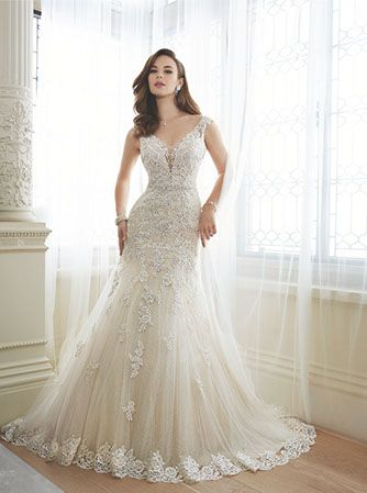 Daria Bridal Dress From The 2016 Collection By Sophia Tolli Available In Canada At Best For Bride Toronto North York Superior Markham