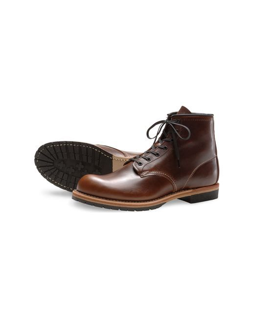 "Red Wing Featherstone Beckman 6"" Round Toe Boot - Cigar - 9016  http://www.countryoutfitter.com/products/47170-featherstone-beckman-6-round-toe-boot-cigar-9016"