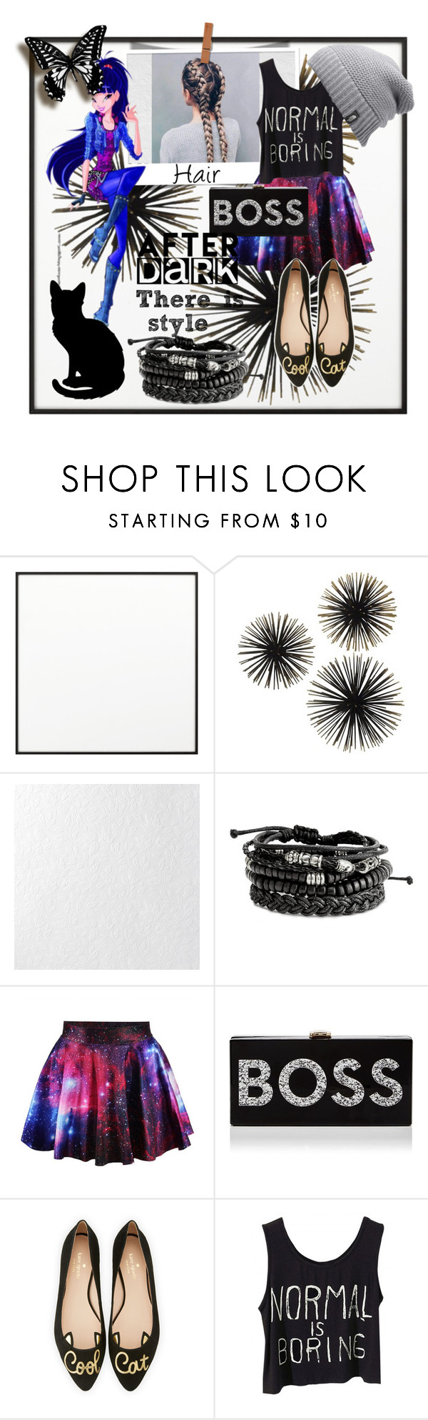 """""""Normal is boring"""" by catemassa ❤ liked on Polyvore featuring By Lassen, Graham & Brown, Milly, Kate Spade and The North Face"""