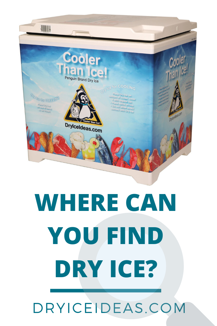If You Re Not Sure Where To Find Dry Ice We Can Help We Have Over 5 000 Grocery Stores And Other Retailers Across The United States Dry Ice Penguin Brand Ice