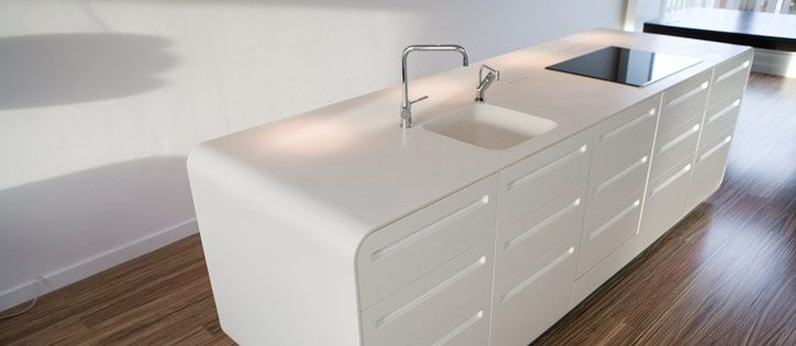 Corian | Azul Acocsa | HouseRenovation | Pinterest | Cocinas