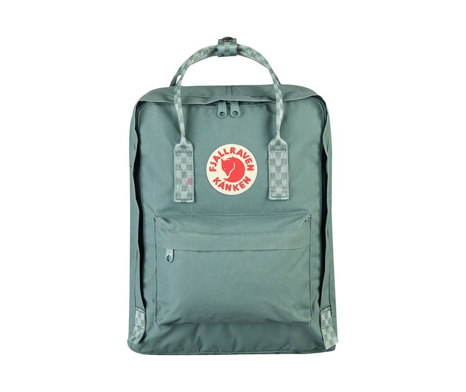 New Kanken Backpack In Frost Green With Chess Patterned Straps Now In Stock This Is The Newest K Fjallraven Kanken Classic Backpack Fjallraven Kanken Backpack