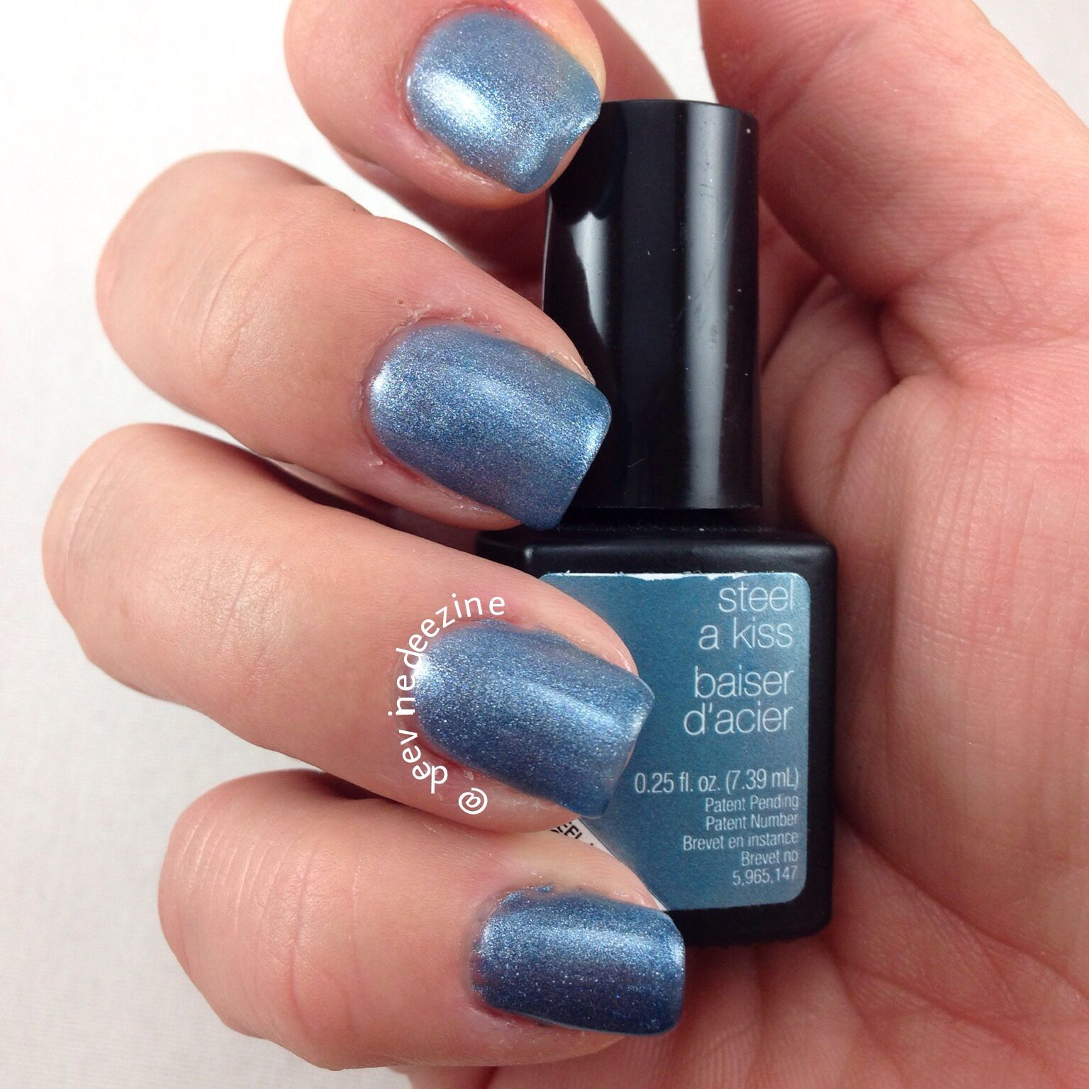 Sensationail Color Gel Polish Blue Yonder by nailene #3