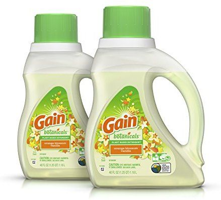 Amazon Com Gain Botanicals Plant Based Laundry Detergent Orange