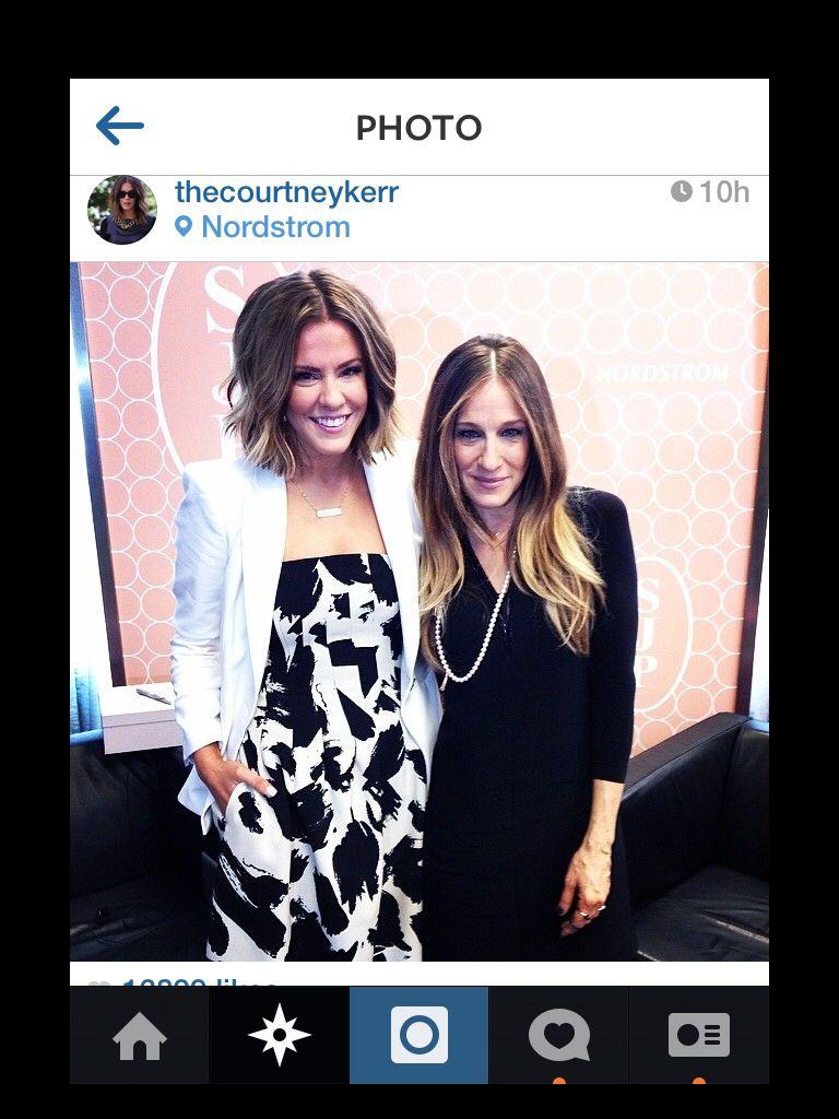 Courtney Kerr & SJP