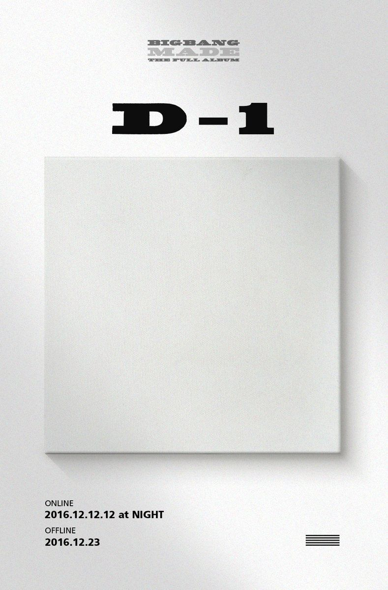 [BIGBANG - MADE THE FULL ALBUM 'D-1' TEASER] originally posted by http://yg-life.com  #BIGBANG #빅뱅 #MADE #THEFULLALBUM #D1