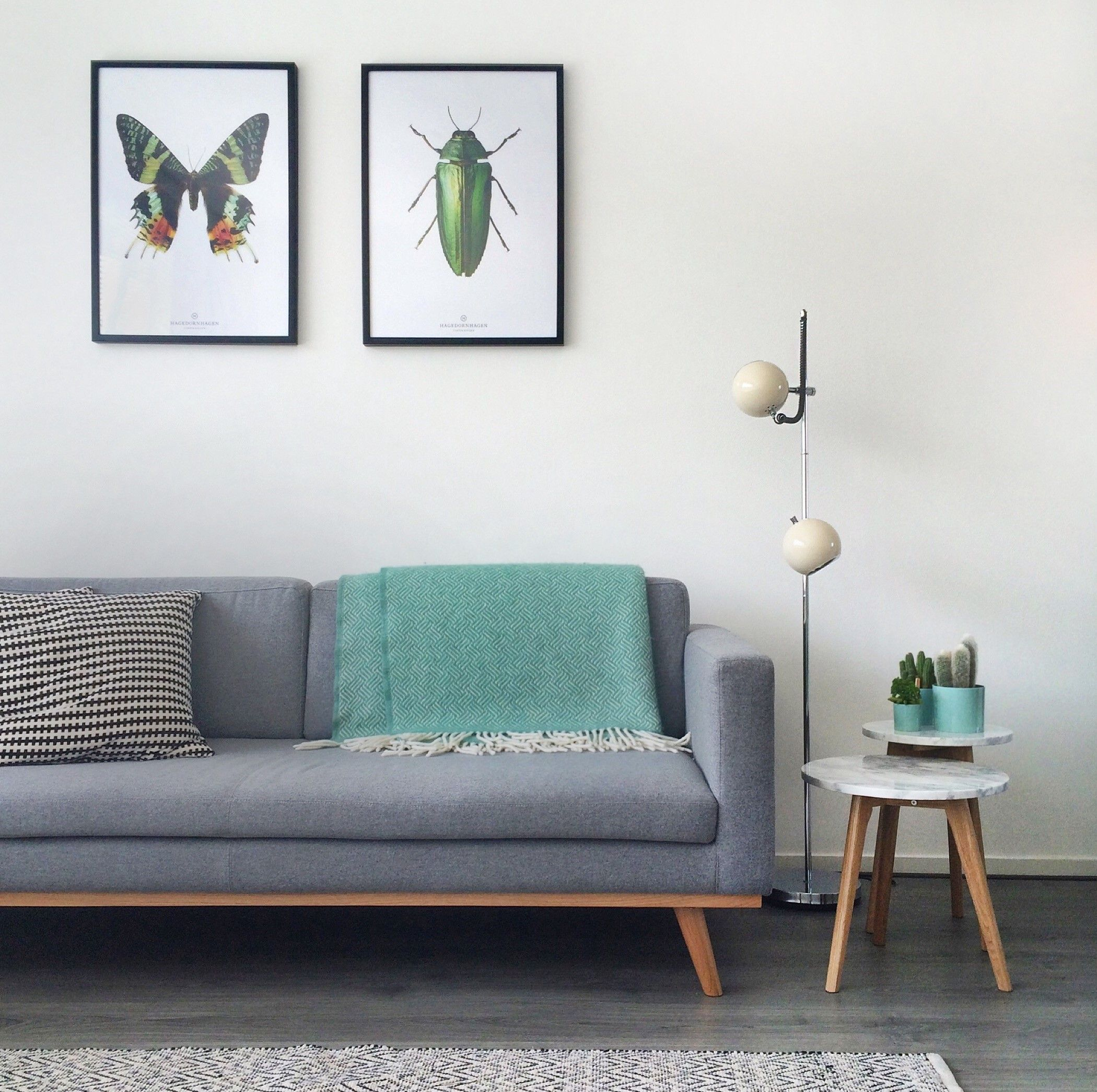 Daybed skandinavisch  Johan in een fris en licht interieur! #Sofacompany #danishdesign ...