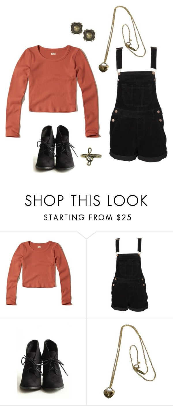 """Senior Year"" by rebellious-ingenue ❤ liked on Polyvore featuring Hollister Co., Tiffany & Co. and ASOS"