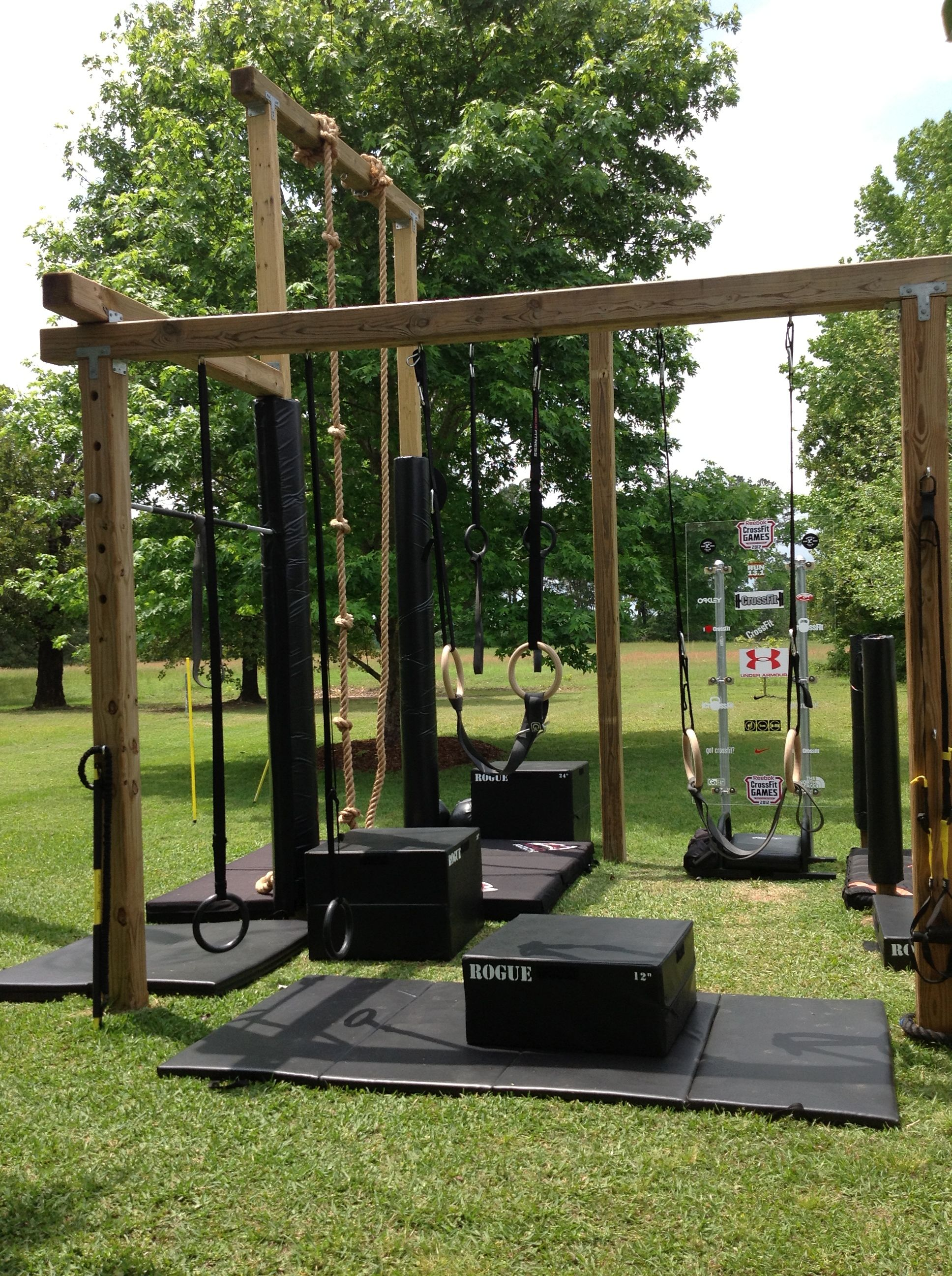 L Shape U Shape Different View. Backyard Obstacle CourseBackyard GymBackyard  ...
