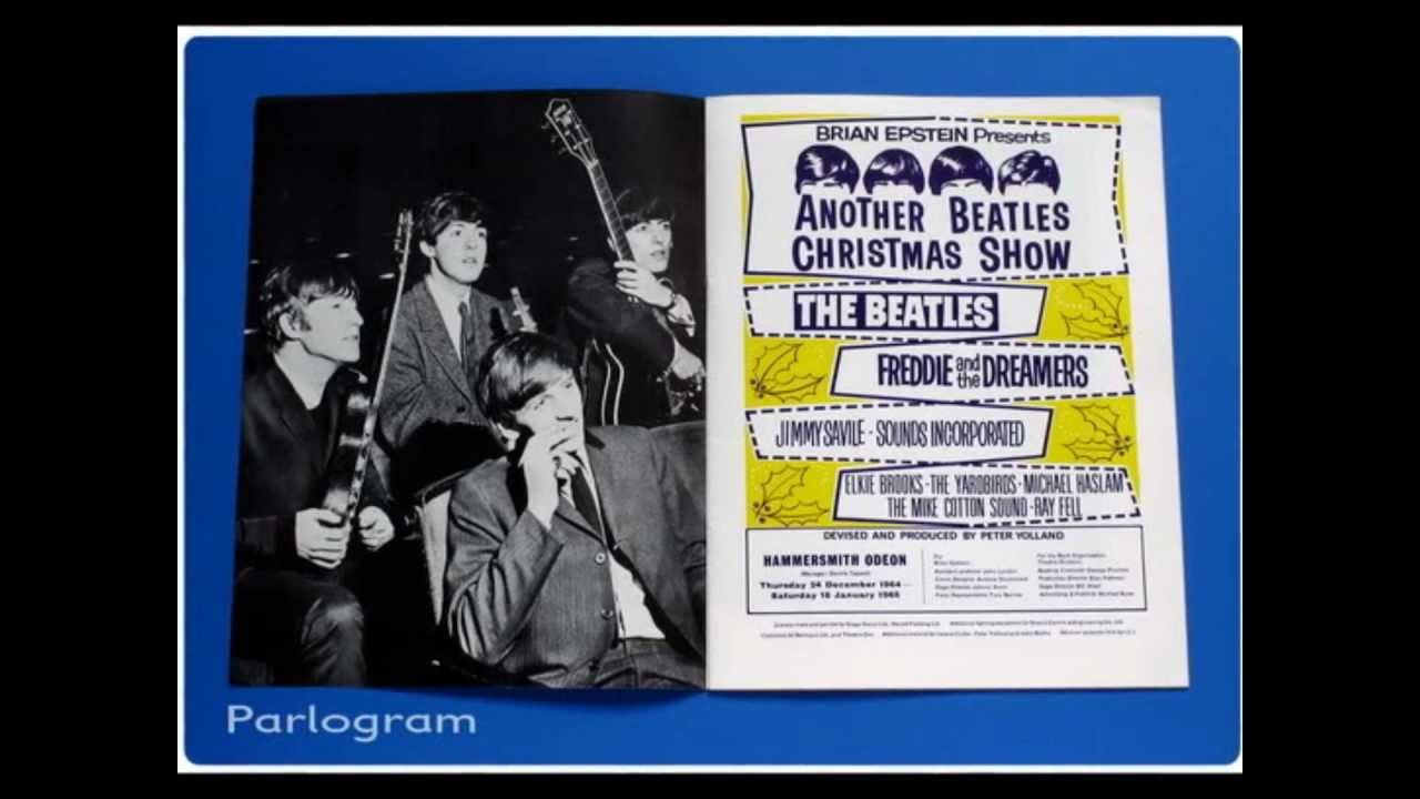 The beatles christmas show rare interview the beatles