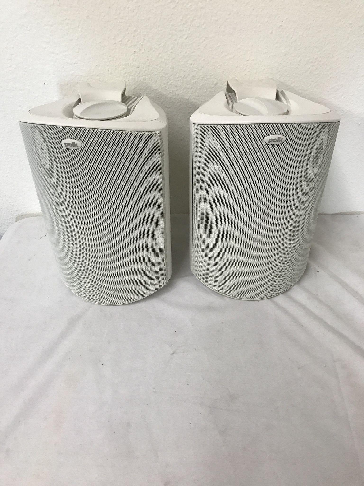 Polk Audio Atrium 6 Speakers Pair, White