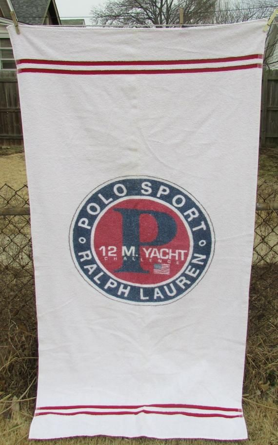 Polo Ralph Lauren Beach Towel Polo Sport 12 M Yacht Challenge All