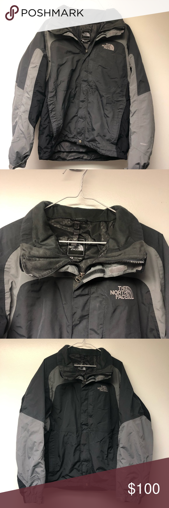 North Face 2 In 1 Coat And Jacket Jackets The North Face Clothes Design [ 1740 x 580 Pixel ]