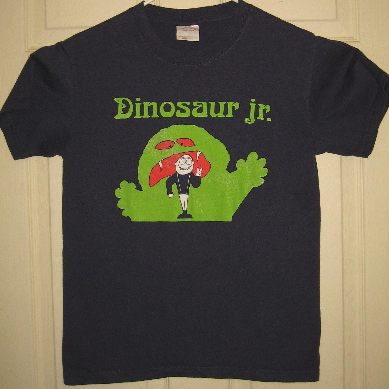 e941d8ebd Dinosaur Jr Shirt s Monster Peace Sign Man Design Grunge Nirvana RARE