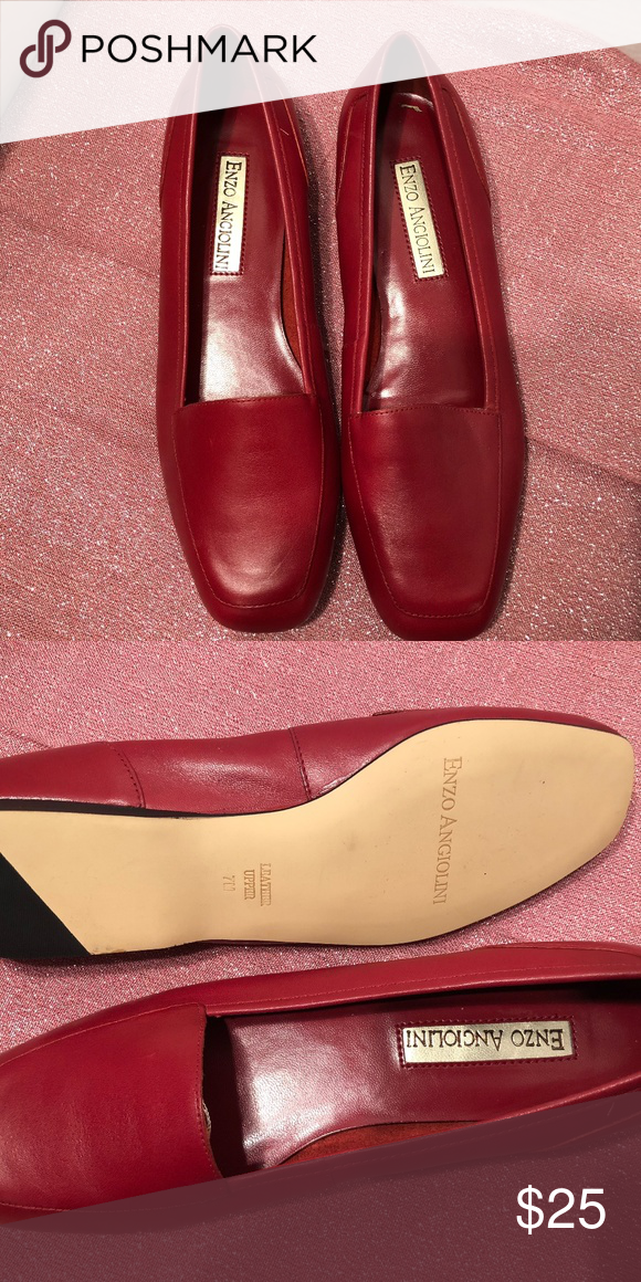 Loafers, Leather loafers, Enzo angiolini
