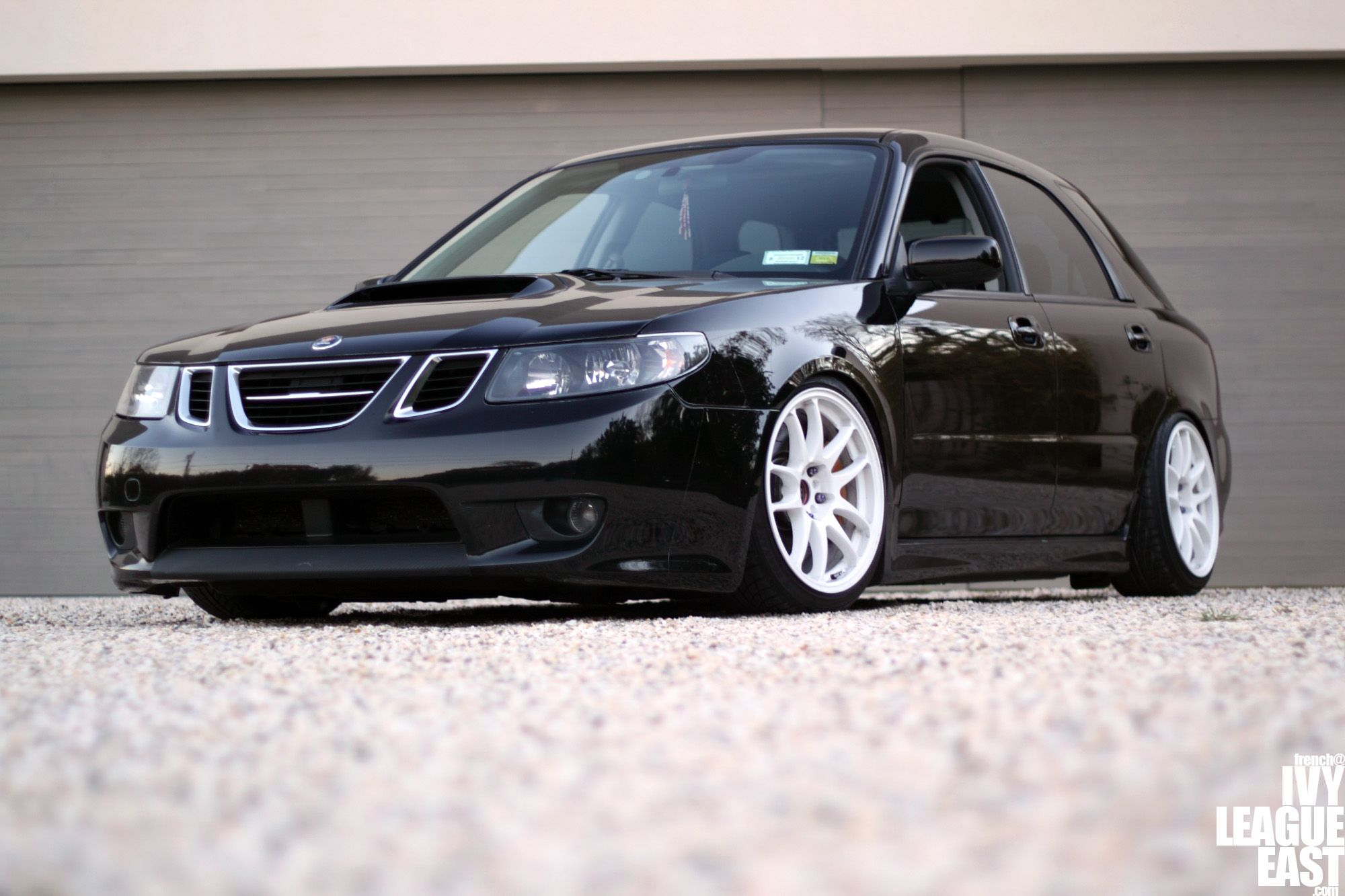 6cd68040ce1a984a2c29e622dad9e1e9 the subaru impreza based saab 9 2x its aggressive styling set the  at alyssarenee.co