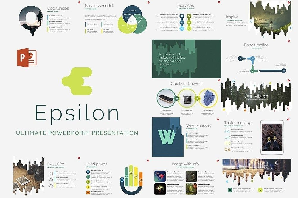 Epsilon free powerpoint template themes templates pinterest epsilon free powerpoint template toneelgroepblik Choice Image