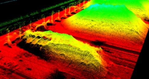 Flash Lidar Time of Flight (ToF) Camera Sensors On Drones
