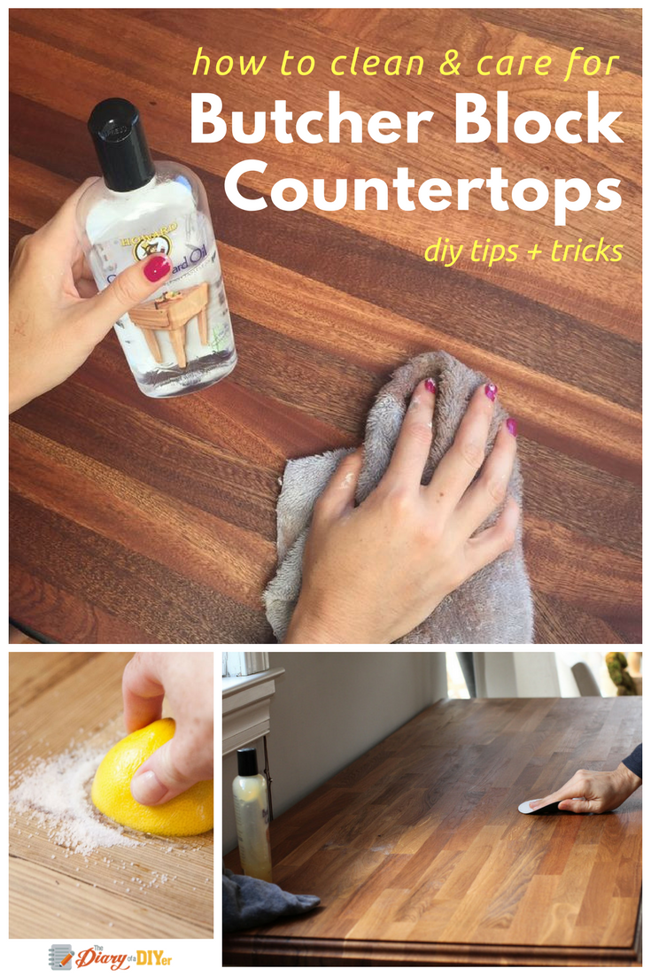 How to Clean and Care for Butcher Block Countertops