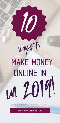10 Wege, wie Sie im Jahr 2019 viel Geld online verdienen können   – Budgetting