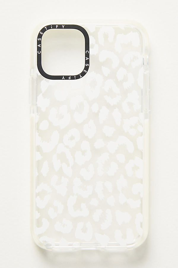 Casetify White Leopard iPhone Case