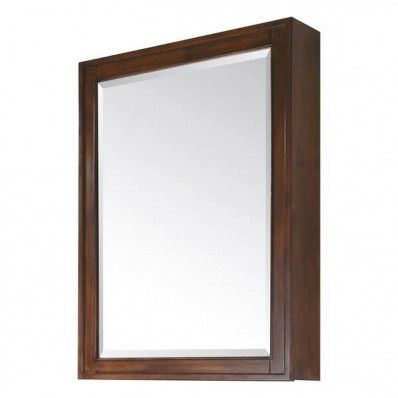 Avanity MADISON - MC28 - TO MADISON #Mirror Cabinet - 28 Inch Tobacco #bathmirror   http://www.laladecor.com/