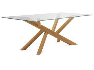 Dining Table Tree 240 Domitalia Table En Acier Design