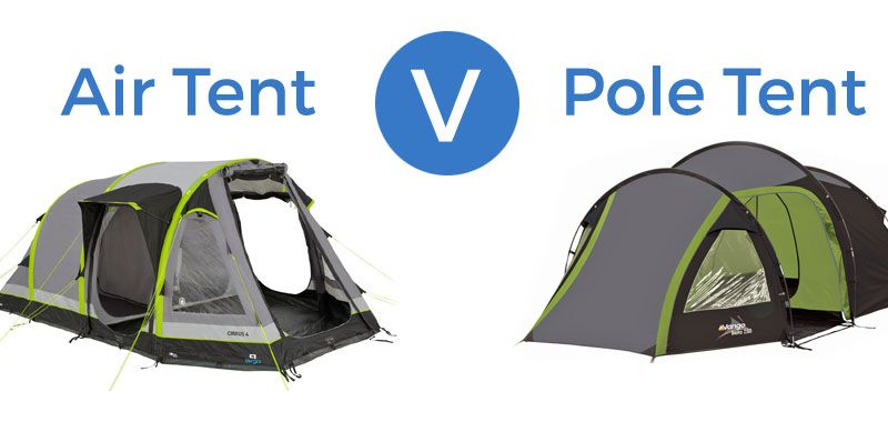 Inflatable Air Tents Vs Pole Tents  sc 1 st  Pinterest & Inflatable Air Tents Vs Pole Tents - Which is Best? We Review Pros ...