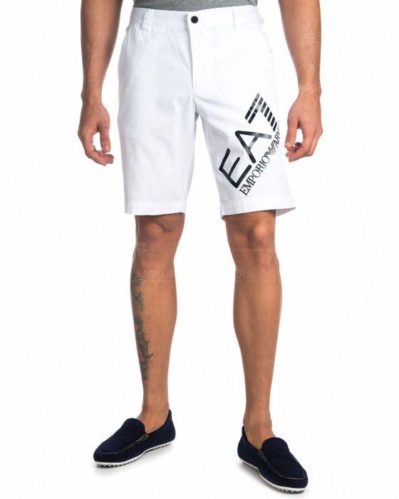 d50189adae4 Pantalón Corto Emporio Armani EA7 - Blanco Tenis